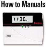 DSC Alarm Control Panel