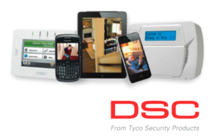 DSC security systems with mobile phones